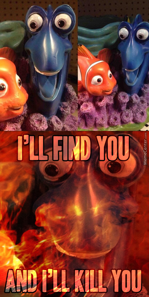 Find Dory Before She Finds You