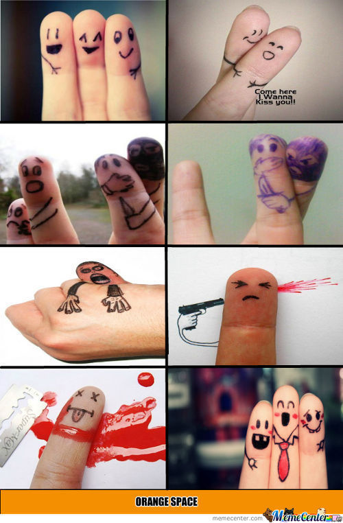 Finger Art.