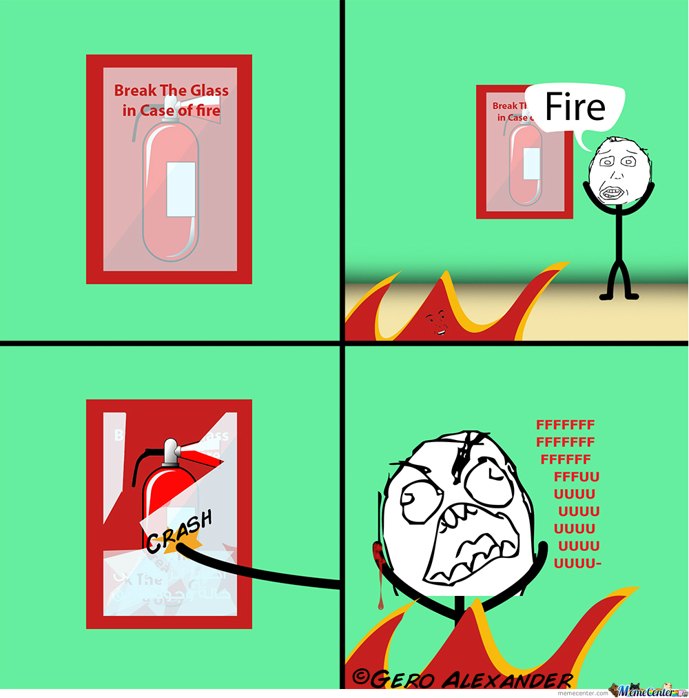 fire extinguisher_o_2055259 fire extinguisher by recyclebin meme center