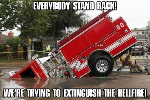 Firefighters Are The Bravest Of Them All!