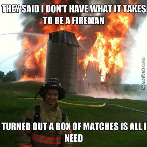 Fireman Not Firefighter