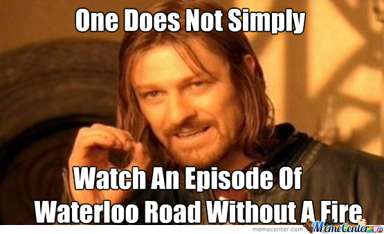 fires on waterloo road by recyclebin meme center