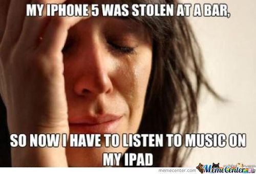 First Apple Problems