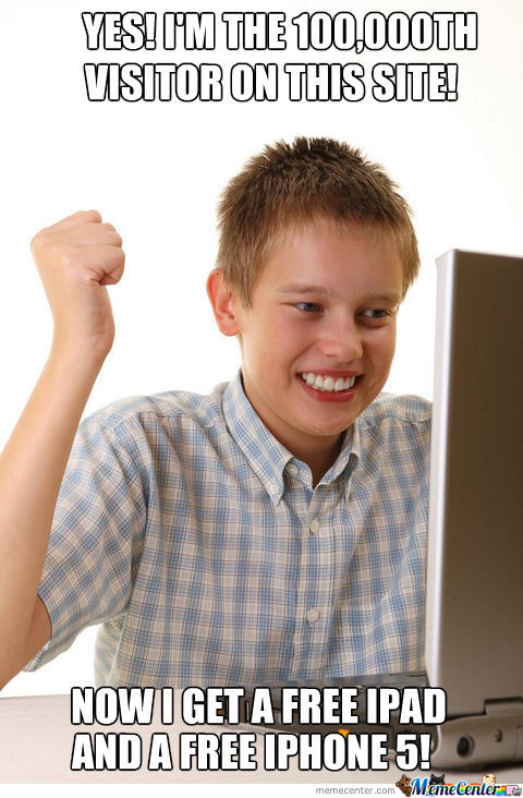 First Day On The Internet!