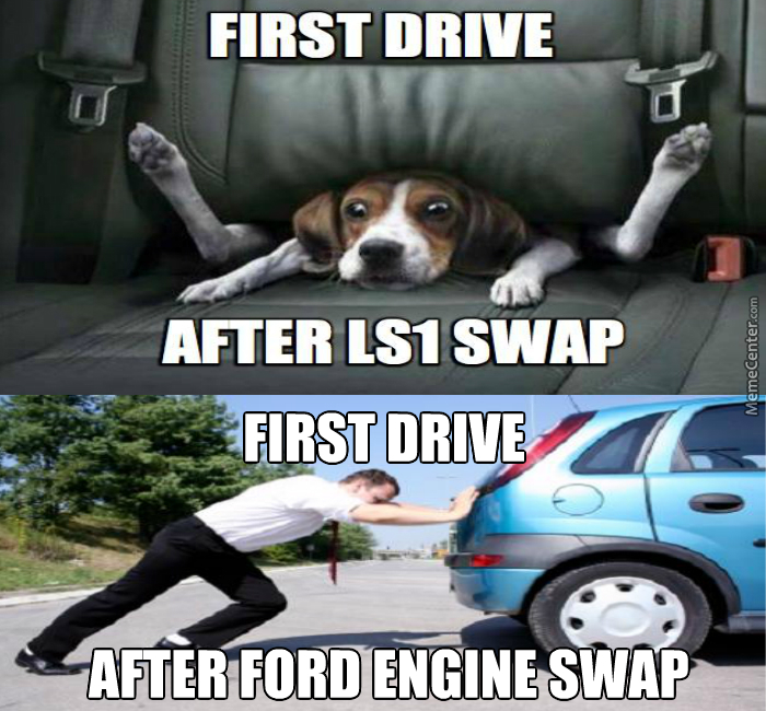 first drive after ls1 swap first drive after ford engine