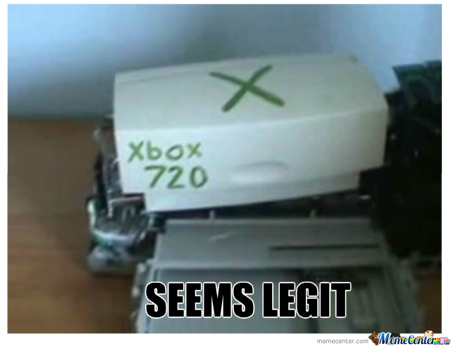 First Look At Xbox 720
