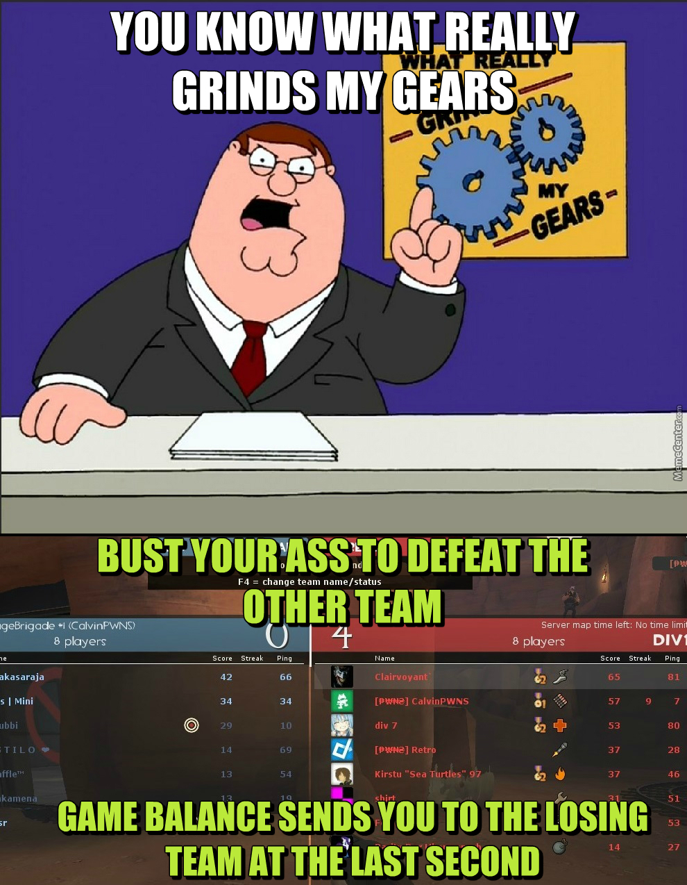 First Tf2 Public Server Problems. Luckily I Got A Competitive Team To Play Highlander.