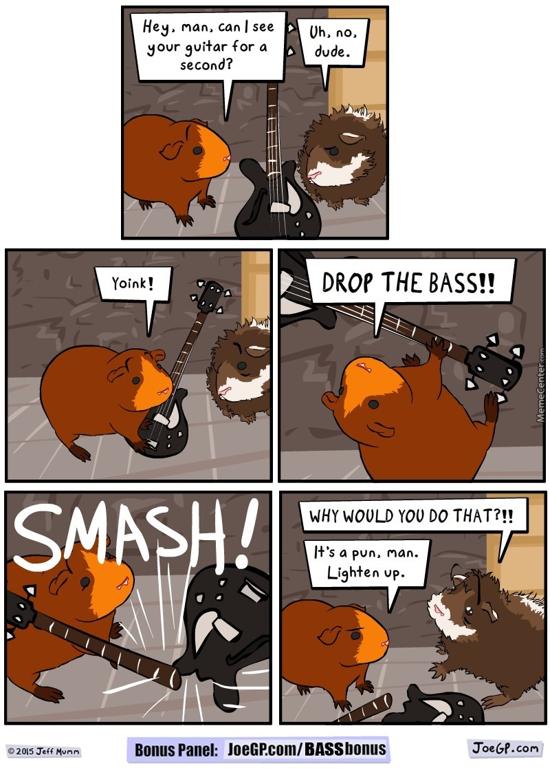 Fishing For That Bass... Guitar