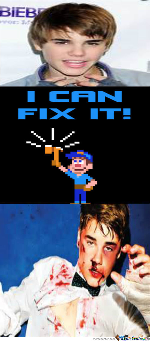 Fix It, Felix! (New Meme Idea)