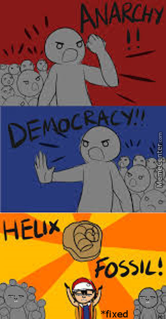 *fix* Twitch Play's Pokemon - Helix Fossil - Anarchy Vs Democracy