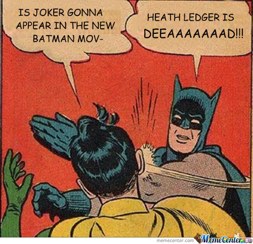 [Fixed] Heath Ledger Is Deeaaaaaaad!