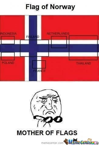 Flag Of Norway Is Awesome