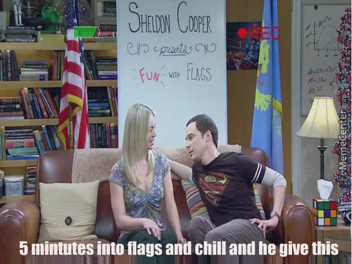 Flags And Chill