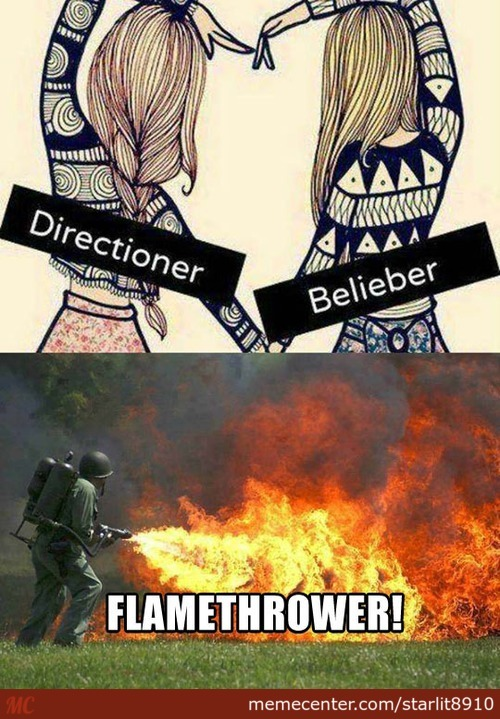 Flamethrower!