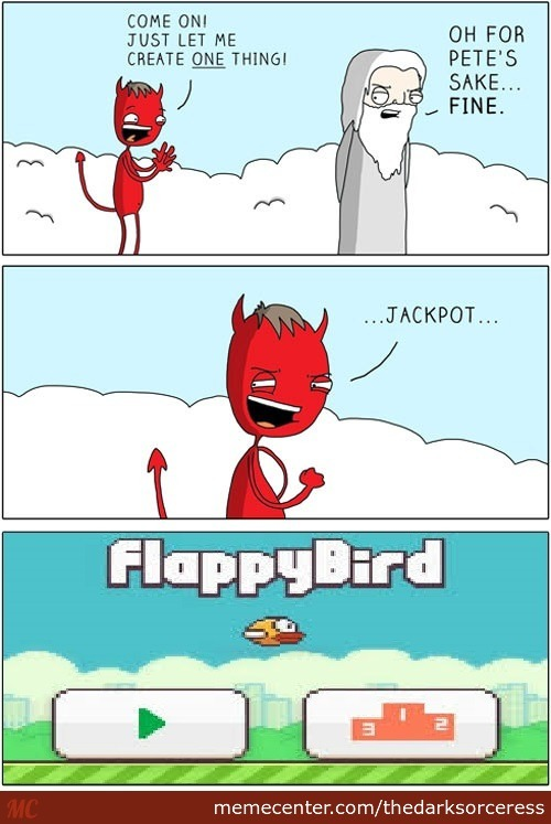 how to make a game like flappy bird