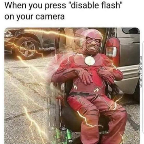 Flash Disabled