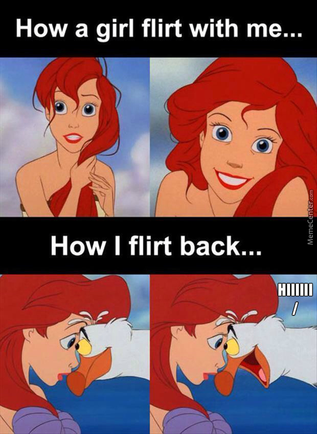 flirting memes with men images cartoon characters picture