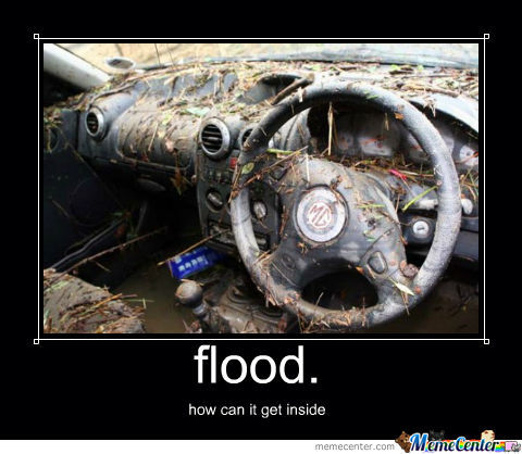 how to tell if your car is flooded