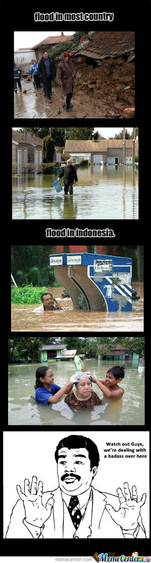 Flood In Indonesia