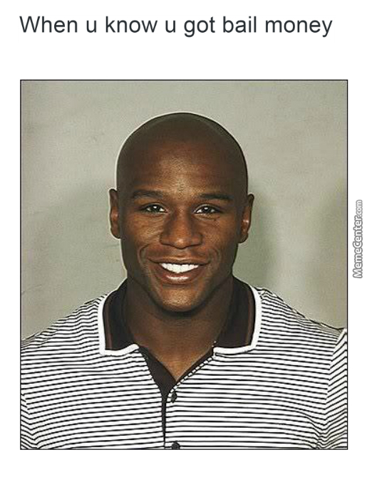 floyd the type of n gga to smile for his mugshot by bakoahmed meme