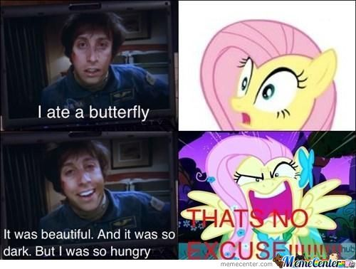 Fluttershy Does Not Approve