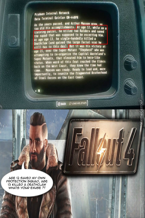 Fo4 Killed A Deathclaw, Man The Fuck Up Lone Wander !!