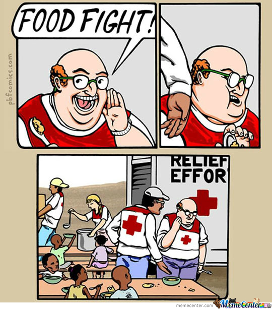 Food Fight!