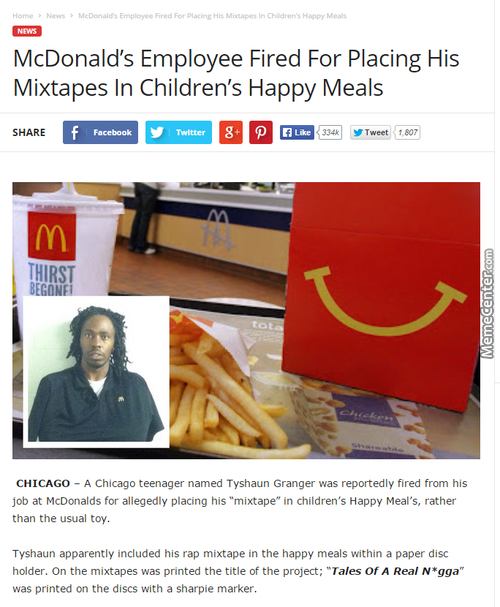 Food Got Burned By This Nig*a Mixtape