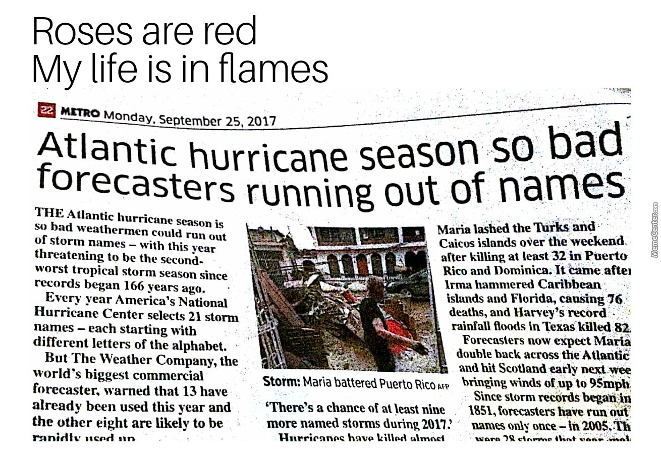 Fooking Hurricanes