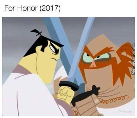 Foolish Samurai Warrior Fighting A Scottish Knight (1562 Colorized)