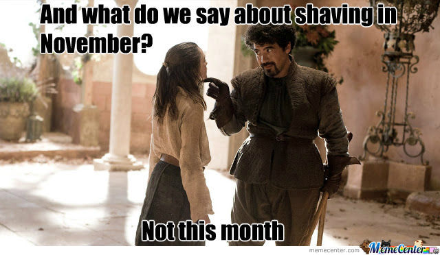 For All Those Doing No Shave November!