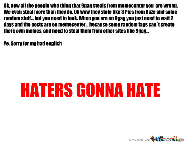 For Every 9Gag Hater :)