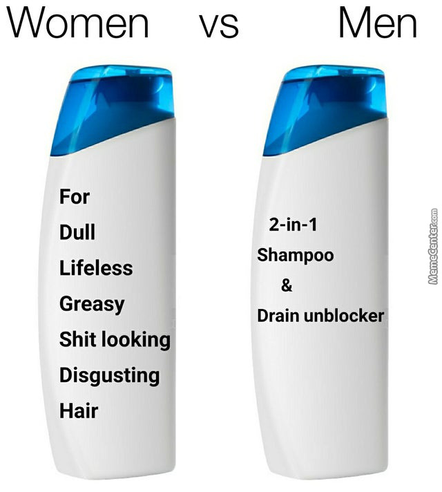 For Hair That Looks Like You'Ve Been Sleeping In A Tent For 4 Days Without Taking A Shower .Vs. Killing 2 Birds With 1 Stone