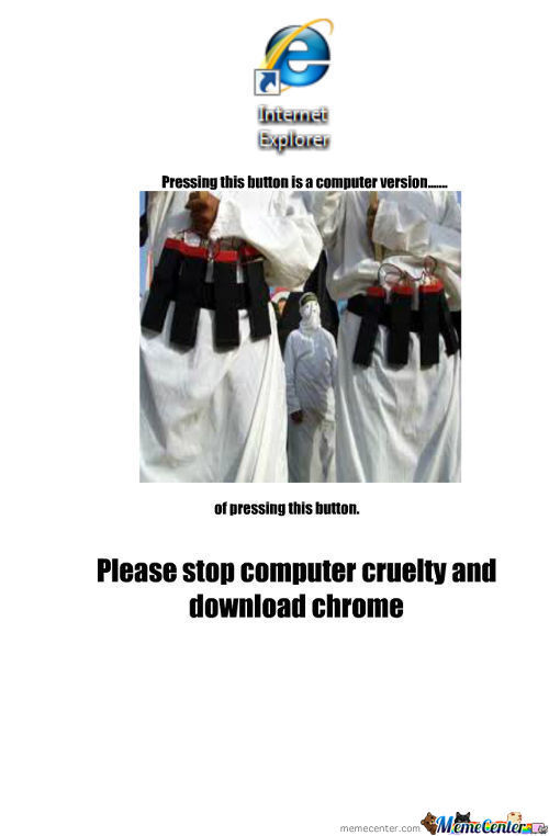 For People Who Use Internet Explorer