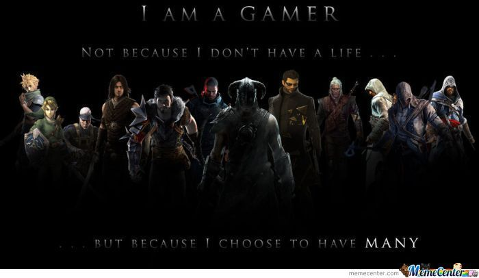For Real Gamers