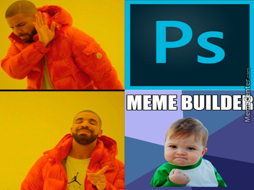 For Real Tho, I Couldn't Find The Meme Builder Logo Anywhere, If You Got It Drop It In The Comments Pls