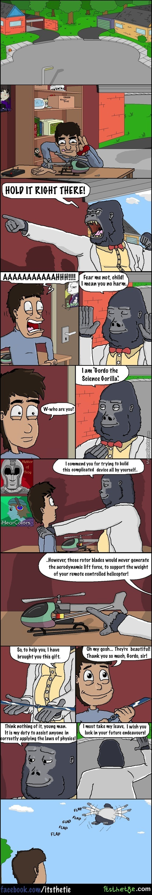 For Science (This Is An Older Comic I Drew With My Mouse In Ms Paint)