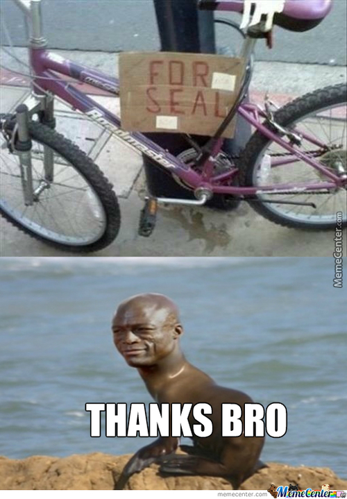 For Seal...thanks