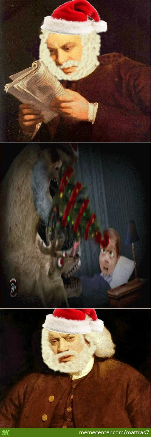 For The Full 'christmas Horror' Gif Go See The Comment Section Because I Couldnt Upload It With The Gif In It :/