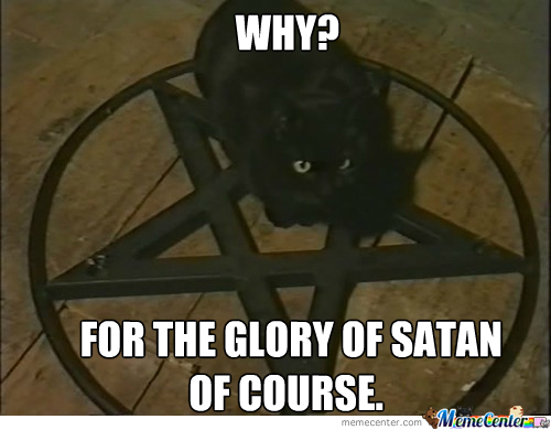 For The Glory Of Satan