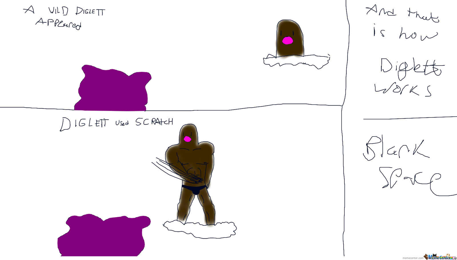 For Those Who Wonder How A Diglett Can Use Scratch