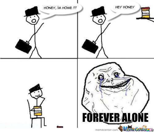 Forever Alone - Honey