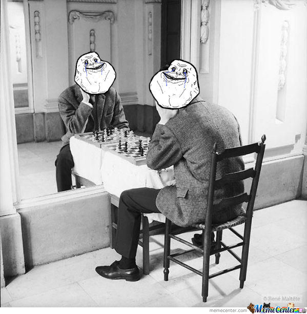 Forever Alone Checkmate
