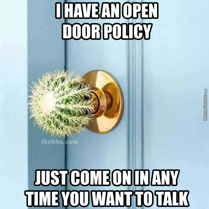 Forever Alone Doorknob