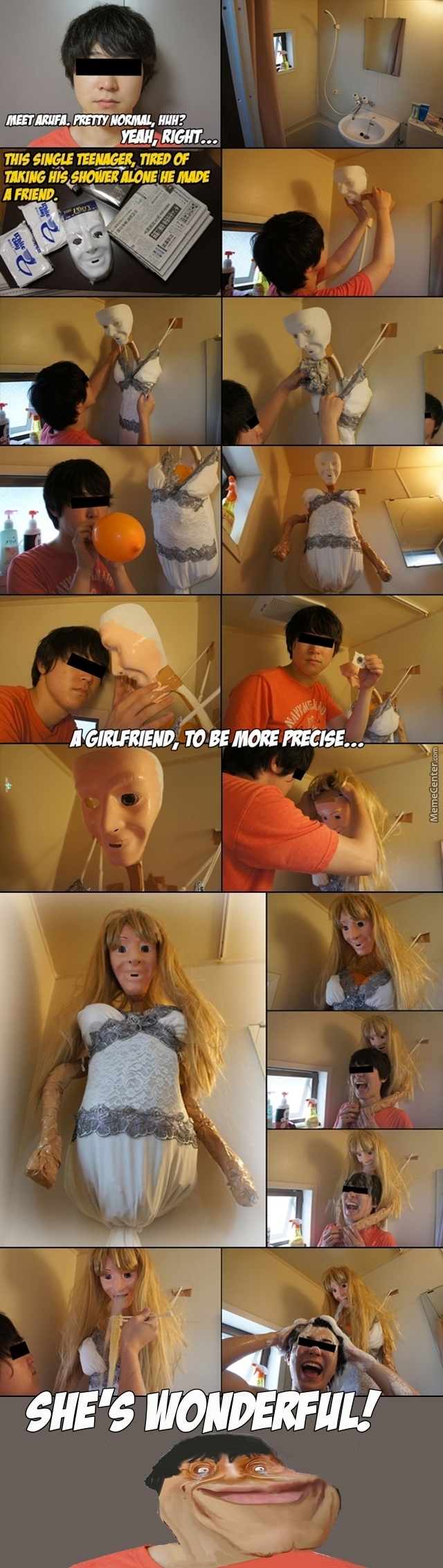 Forever Alone Level: Creepy As F*ck