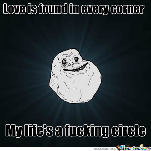 Forever Alone Level: Shapes