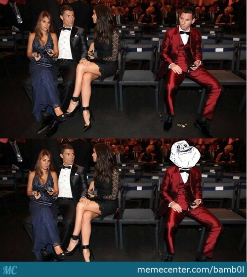 Forever Alone: Messi