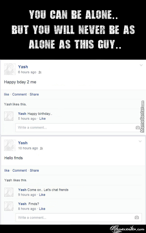 Forever Alone People