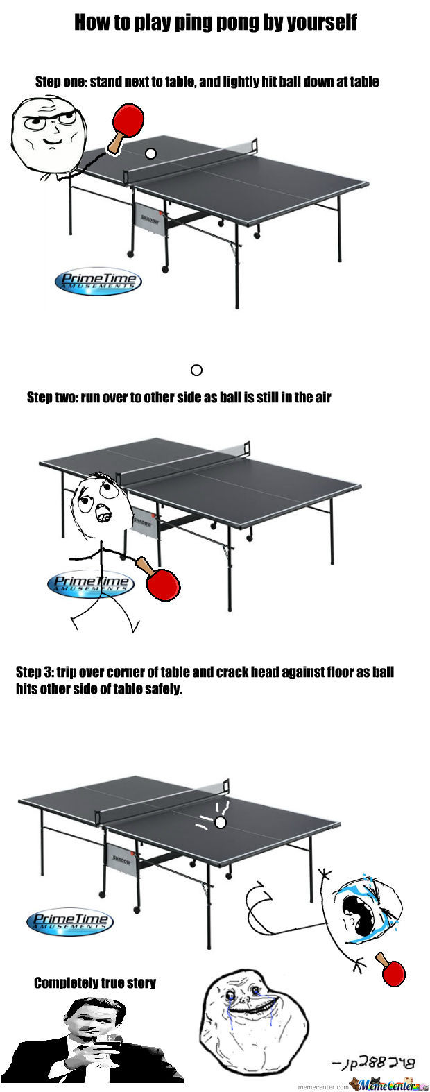 Forever Alone Ping Pong