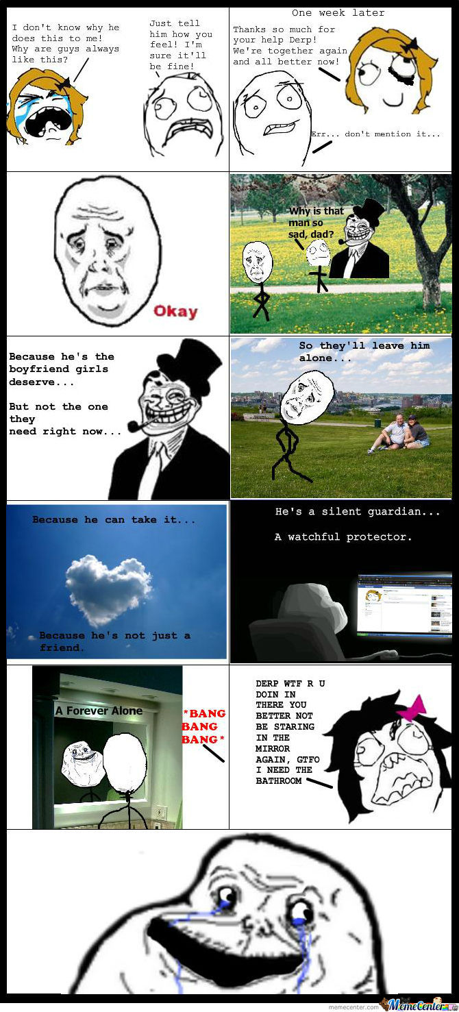 Forever Alone Rises